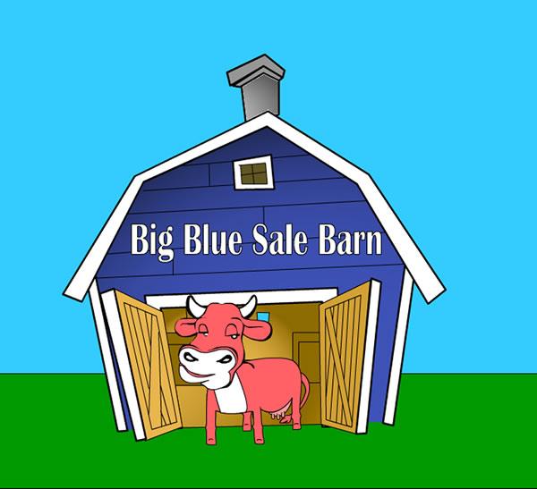 Blue Sale Barn - Home